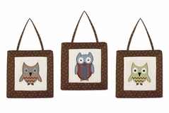 Night Owl Wall Hanging Accessories by Sweet Jojo Designs