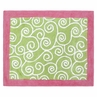 Olivia Pink and Green Accent Floor Rug