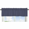 Orange and Navy Arrow�Collection Hexagon Print Window Valance