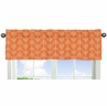 Orange and Navy Arrow�Collection Window Valance