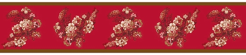 Oriental Garden Asian Baby and Kids Wall Border by Sweet Jojo Designs - Click to enlarge