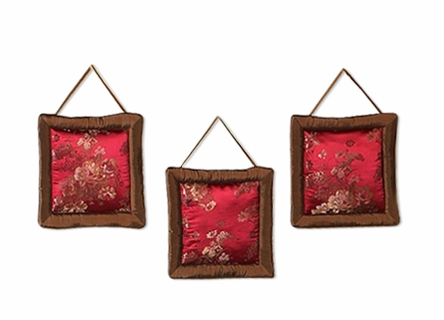 Oriental Garden Wall Hanging Accessories by Sweet Jojo Designs - Click to enlarge