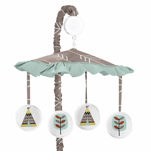 Outddor Adventure Musical Baby Crib Mobile by Sweet Jojo Designs - Click to enlarge