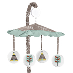 Outdoor Adventure Musical Baby Crib Mobile by Sweet Jojo Designs