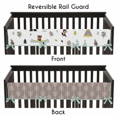 Outdoor Adventure Baby Crib Long Rail Guard Cover by Sweet Jojo Designs