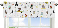 Outdoor Adventure Collection Window Valance by Sweet Jojo Designs