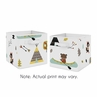 Outdoor Adventure Foldable Fabric Storage Cube Bins Boxes Organizer Toys Kids Baby Childrens for Collection by Sweet Jojo Designs - Set of 2