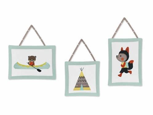 Outdoor Adventure Wall Hanging Accessories by Sweet Jojo Designs - Click to enlarge