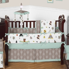 Outdoor Adventure Nature Baby Bedding - 9pc Crib Set by Sweet Jojo Designs