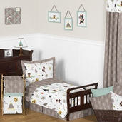 Outdoor Adventure Nature Toddler Bedding - 5pc Set by Sweet Jojo Designs