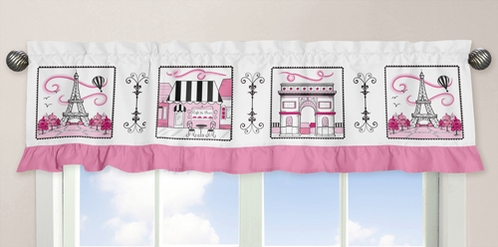 Paris�Collection Window Valance - Click to enlarge