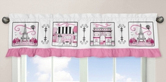 Paris Collection Window Valance