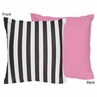 Paris Decorative Accent Throw Pillow by Sweet Jojo Designs