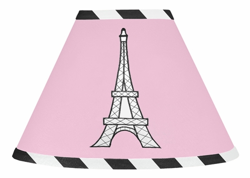 Paris Lamp Shade by Sweet Jojo Designs - Click to enlarge