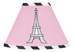 Paris Lamp Shade by Sweet Jojo Designs