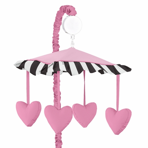 Paris Musical Baby Crib Mobile by Sweet Jojo Designs - Click to enlarge