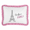 Paris Pillow Sham by Sweet Jojo Designs