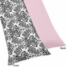 Pink and Black Sophia Full Length Double Zippered Body Pillow Case Cover