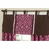 Pink and Brown Bella Window Valance by Sweet Jojo Designs
