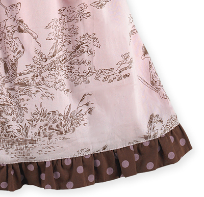 d0685418d Pink and Brown French Toile Baby Dress by Sweet Jojo Designs only  14.99