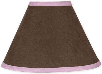 Pink and Brown Soho Lamp Shade - Click to enlarge