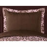 Pink and Chocolate Nicole Pillow Sham by Sweet Jojo Designs