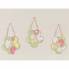 Pink and Green Blossom Wall Hanging Accessories by Sweet Jojo Designs