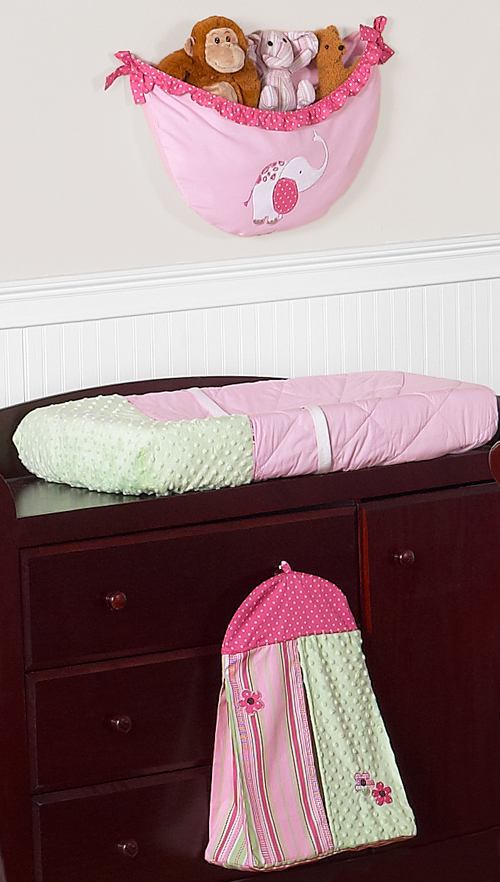 pink and green girls jungle baby bedding 9pc crib set only 189 99