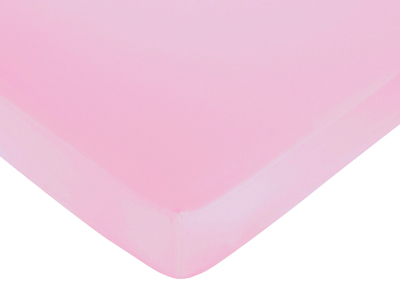 Pink and Lime Juliet Fitted Crib Sheet for Baby/Toddler Bedding Sets - Pink - Click to enlarge