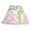 Pink and Lime Juliet Lamp Shade by Sweet Jojo Designs