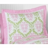 Pink and Lime Juliet Pillow Sham by Sweet Jojo Designs