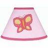 Pink and Orange Butterfly Lamp Shade by Sweet Jojo Designs