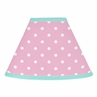 Pink and Turquoise Skylar Lamp Shade by Sweet Jojo Designs