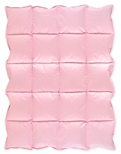 Pink Baby Crib Down Alternative Comforter / Blanket - Click to enlarge