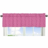 Pink Bandana Window Valance for Western Cowgirl Collection by Sweet Jojo Designs