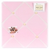 Pink Dragonfly Dreams Fabric Memory/Memo Photo Bulletin Board