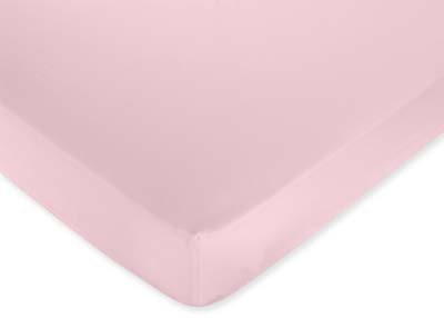 Pink Dragonfly Dreams Fitted Crib Sheet for Baby and Toddler Bedding Sets by Sweet Jojo Designs - Solid Pink - Click to enlarge