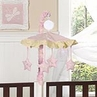 Pink Dragonfly Dreams Musical Crib Mobile