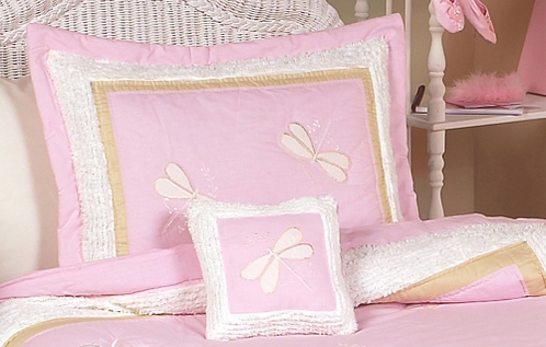 Pink Dragonfly Dreams Pillow Sham - Click to enlarge