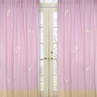 Pink Dragonfly Dreams Window Treatment Panels - Set of 2