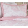 Pink French Toile Pillow Sham
