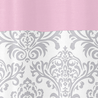 pink grey shower curtain. Pink  Gray and White Elizabeth Kids Bathroom Fabric Bath Shower Curtain by Sweet Jojo Designs only 39 99
