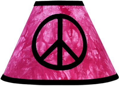 Pink groovy peace sign tie dye lamp shade by sweet jojo designs only pink groovy peace sign tie dye lamp shade by sweet jojo designs only 799 aloadofball Gallery
