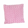 Pink Minky Swirl Madison Decorative Accent Throw Pillow