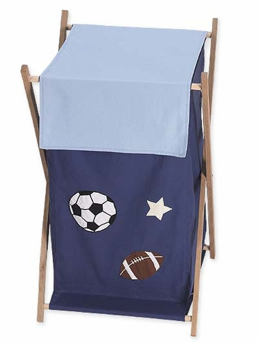 Playball Sports Baby and Kids Clothes Laundry Hamper - Click to enlarge