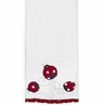 Polka Dot Ladybug Large Cotton Bath Towel