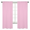 Polka Dot Window Treatment Panels for Pink, Gray and Turquoise Skylar Collection - Set of 2