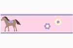 Pretty Pony Baby and Childrens Horse Wall Border by Sweet Jojo Designs