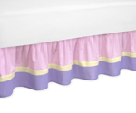 Pretty Pony Bed Skirt for Toddler Bedding Sets by Sweet Jojo Designs