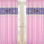 Pretty Pony Horse Window Treatment Panels - Set of 2